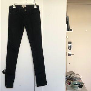 Current/Elliott faded black jeans 26